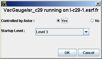 Start a new server with Astor — Tango Controls 9 2 5