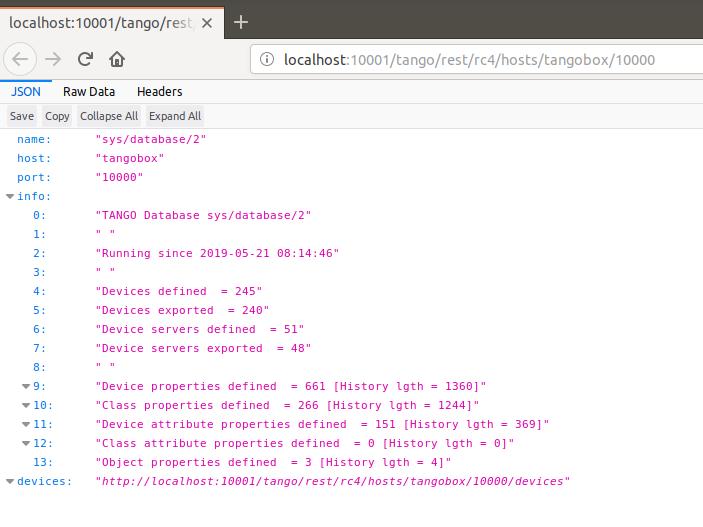 export vm configuration to json