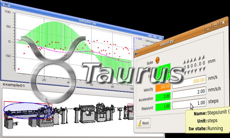 Taurus (Python GUI library) — Tango Controls 9 2 5 documentation